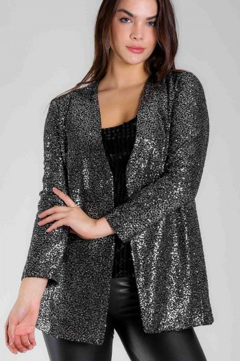 Sequin jacket