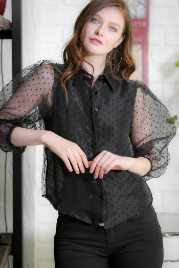 Vintage blouse scores more lined the front body