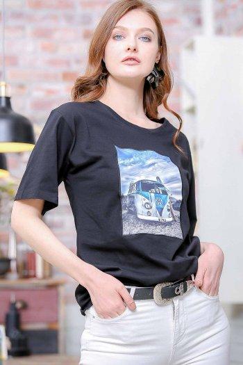 T1 Bus print t-shirt